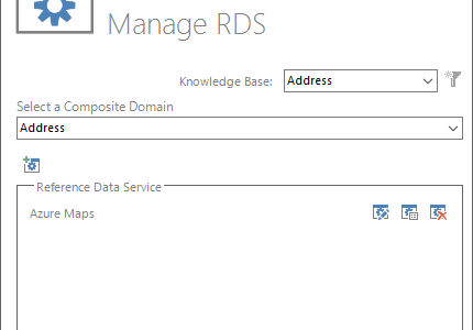 Manage RDS